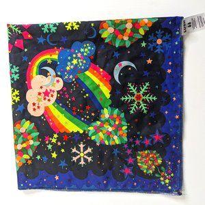 Limited edition rainbow Lush knot wrap